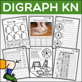 Digraph KN Dig Into Digraphs Print and Go Series