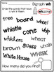 Digraph WH Dig Into Digraphs Print and Go Series
