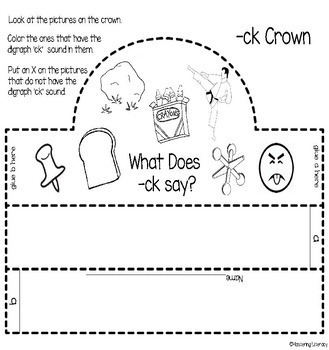 Digraph -CK Dig Into Digraphs Print and Go Series