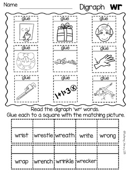 Dig into Digraphs Series ~ WR