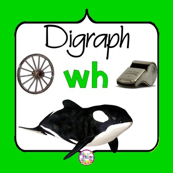 Digraph WH Activities and Worksheets, 1st Grade- NO PREP