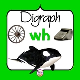 WH Digraph Activities | NO PREP | Digraph Worksheets and Games | wh digraph