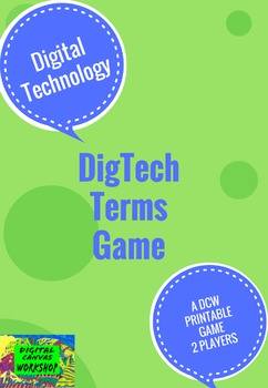 DigTech Terms Game For 2 Players