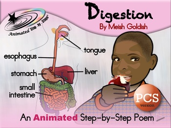 Digestion - Animated Step-by-Step Science Poem - PCS