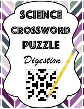 Digestive System Crossword Worksheets Teaching Resources Tpt