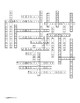 Digestion and Nutrition Part II Vocabulary Crossword for Zoology