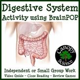 Digestive System Activity using BrainPOP