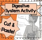 Digestive System Activity {Cut & Paste!}