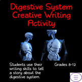Digestive System Creative Writting Activty