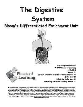 Digestive System - Differentiated Blooms Enrichment Unit