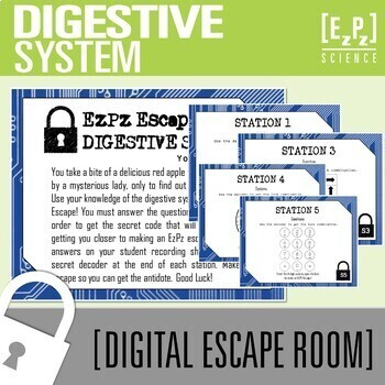 Digestive System Escape Room