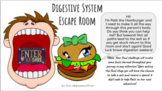 Digestive System Escape Room Activity - Interactive Game -