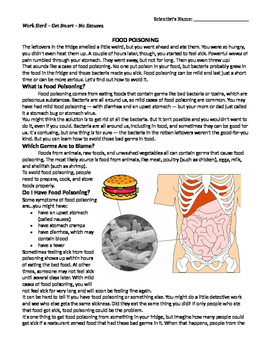 Digestive System: Food Poisoning