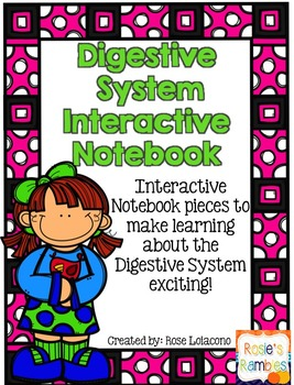 Digestive System Interactive Notebook