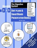 Digestive System Intro!  3-Week Lesson Plans & SmartBoard Bundle for Grades 3-5