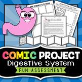 Digestive System Project - Comic Strip