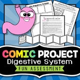 Digestive System Project - Comic Strip