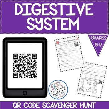 Digestive System QR Code Scavenger Hunt