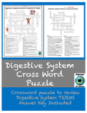 Digestive System Review Crossword Puzzle