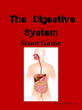 Digestive System Scoot Game