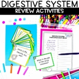 Digestive System Printable Task Card Review Activity