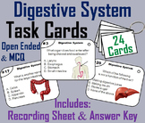 Digestive System Task Cards (Human Body Systems Activity)