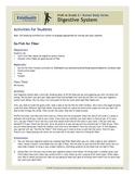 Digestive System Teacher's Guide (Pre-K to Grade 2)