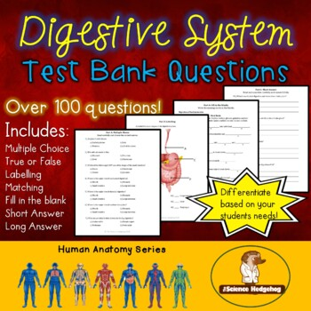 Digestive System Test Questions