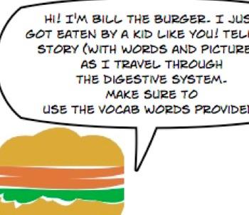 Digestive story - Check for Understanding worksheet