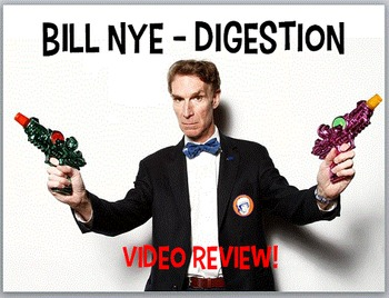 Bill Nye Digestion Digestive system body systems Worksheet PowerPoint Key Jr Hgh