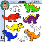 Dinosaurs Clip Art Set