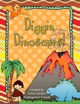 Diggin For Dinosaurs: A Dinosaur Unit