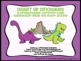 Diggin Up Dino Subtraction-Differentiated Common Core Write the Room