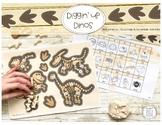 Diggin' Up Dinos: LOW PREP Speech Therapy Dough Activity