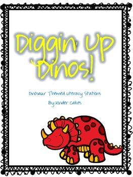 Diggin' Up Dinos: Dinosaur Themed Literacy Stations