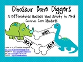 Diggin' Up Nonsense Bones-2 Differentiated Activities for Common Core