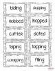 Spelling Suffix Rule Activities - Doubling, Dropping & Cha