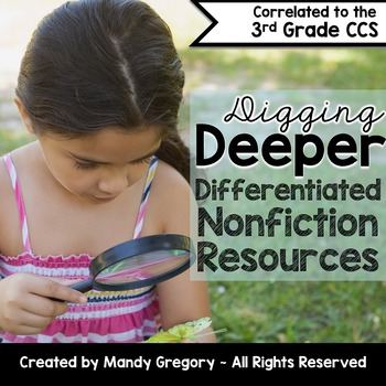 Nonfiction Bundle for 3rd Grade