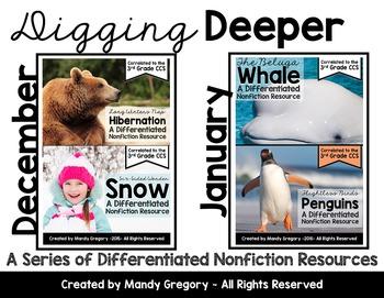 Nonfiction Bundle for 3rd Grade