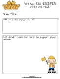 Digging Deeper Graphic Organizer
