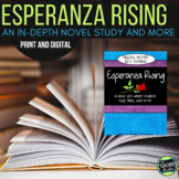 Esperanza Rising: A Novel Study and Comprehension Guide   Distance Learning