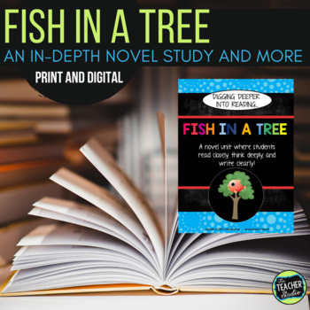 Fish in a Tree Novel Study with distance learning options