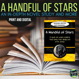 Digging Deeper into Reading:  A Novel Study for A Handful of Stars