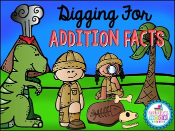 Digging For Addition Facts {Facts to 20}