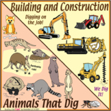 Digging Puzzle Bundle – People Building & Constructing – a