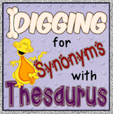 Digging Synonyms with Thesaurus