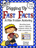 Digging Up Fast Facts: A File Folder Game for TEKS 2.4A