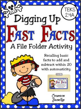 Digging Up Fast Facts: A File Folder Game for TEKS 2.4A