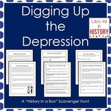 The Great Depression - History in a Box Scavenger Hunt (Re
