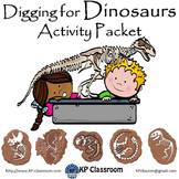 Digging for Dinosaurs Activity Packet and Worksheets